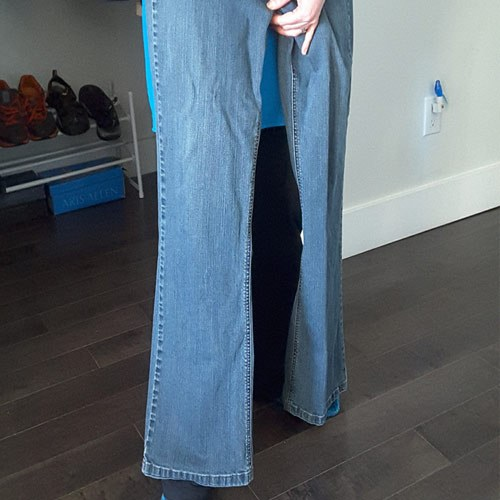 Try On Pants Without Dressing Room - Length