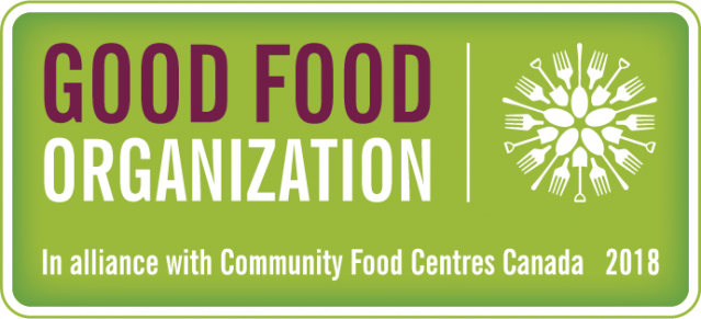 Good Food Organization - SC Food Bank - Food Security