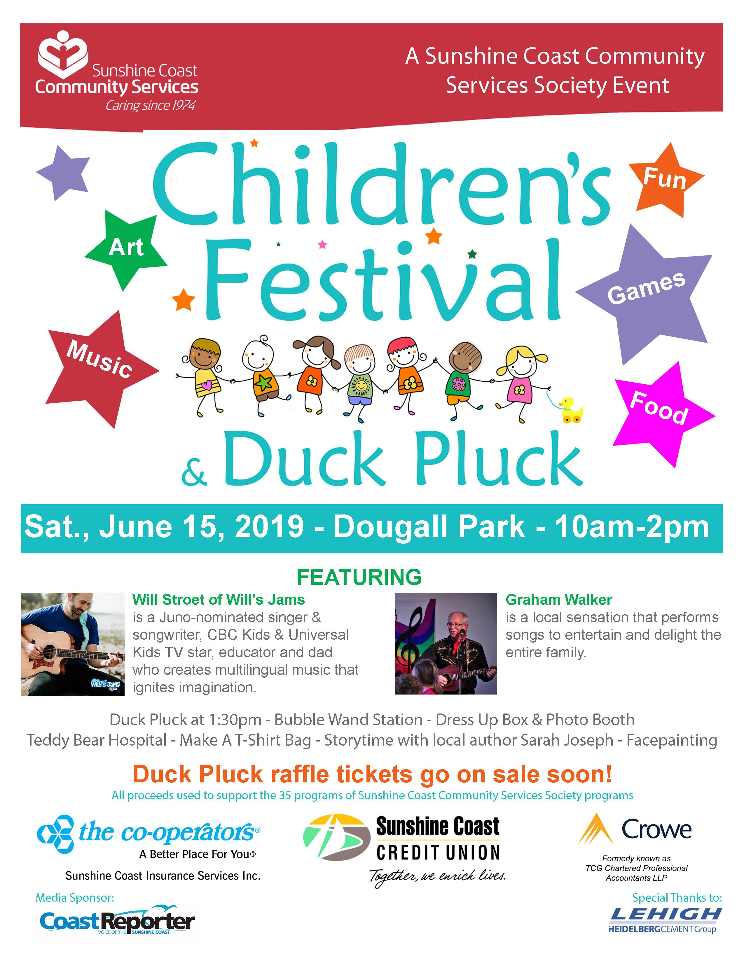 Children's Festival & Duck Pluck Returns June 15 :: Sunshine Coast
