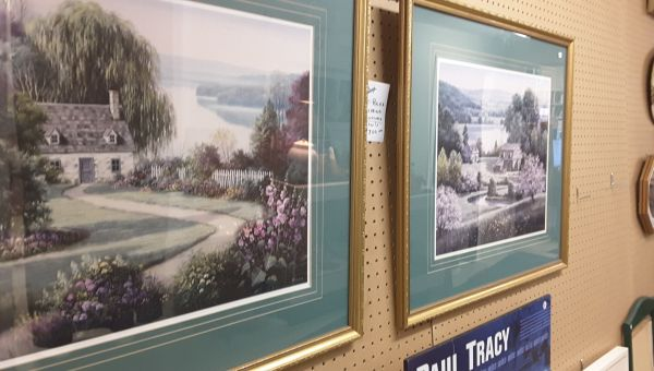 Revamp Your Walls with Thrift Store Art