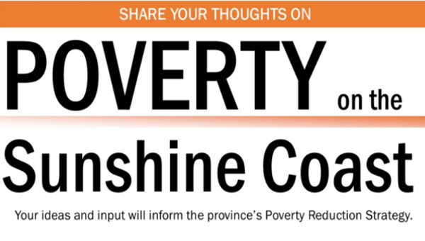 Community Outlines Coast Poverty Strategy for BC Government