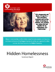 Hidden Homelessness Report Summary